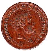5 tornesi Ferdinand II – avers