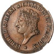 8 tornesi - Ferdinando I – avers