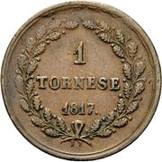 Tornese - Ferdinand I – revers