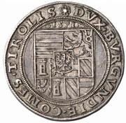 10 kreuzer Ferdinand II du Tyrol (Mühlau-Hall) – revers