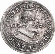 10 kreuzer Leopold V Gouverneur (1619-1625) – avers