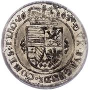 10 kreuzer Sigismund Franz (Hall) – revers