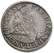 ¼ thaler Archiduc Ferdinand II – avers