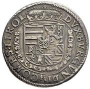 ¼ thaler Archiduc Ferdinand II – revers