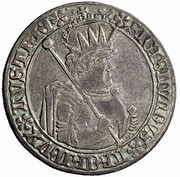 ½ guldiner Sigismund (Hall) -  avers