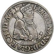 ½ thaler Archiduc Ferdinand II du Tyrol – avers