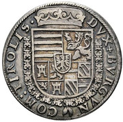 ½ thaler Archiduc Ferdinand II du Tyrol – revers