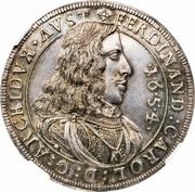 ½ thaler  Ferdinand Karl – avers