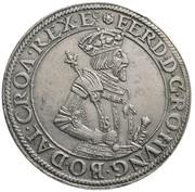 1 thaler Ferdinand I posthume Archiduc Ferdinand II (Hall) – avers