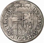10 kreuzer Leopold V Gouverneur (1619-1625) – revers