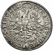 ¼ thaler Leopold V Landesfürst du Tyrol (1626 -1632) – revers