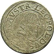 3 kreuzer Leopold V Gouverneur (1619-1625) – avers