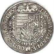 ½ thaler Leopold V Landesfürst du Tyrol (Hall) – revers