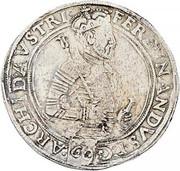 1 guldenthaler (60 Kreuzer) Archiduc Ferdinand II – avers