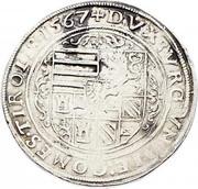 1 guldenthaler (60 Kreuzer) Archiduc Ferdinand II – revers