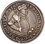 1 guldenthaler Archiduc Ferdinand II (Mülhau) – avers