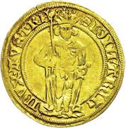 1 florin or - goldgulden Sigismund (Hall) -  avers