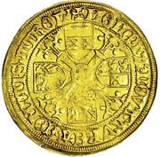1 florin or - goldgulden Sigismund (Hall) -  revers