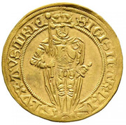 1 florin or - goldgulden Sigismund posthume (Hall) – avers