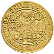 1 florin or - goldgulden Sigismund posthume (Hall) – revers