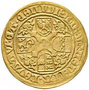 1 florin or - goldgulden Sigismund posthume (Hall) -  revers