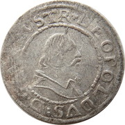 1 kreuzer Archiduc Leopold V -  avers