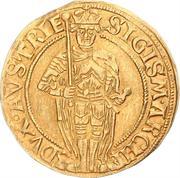 1 florin or - goldgulden Sigismund posthume (Hall) – avers