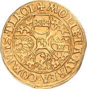 1 florin or - goldgulden Sigismund posthume (Hall) – revers