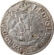 10 kreuzer Leopold V Landesfürst du Tyrol (1626 -1632) -  avers