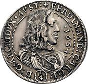¼ thaler Ferdinand Charles (Hall) – avers