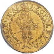 1 ducat Archiduc Leopold V (Hall) – revers