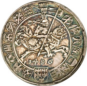 1 guldiner Sigismund (Hall) – revers