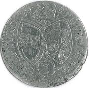 3 kreuzer Sigismund Franz (Hall) – revers