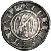 groschen à l'aigle Meinhard II – avers