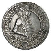 1 guldenthaler Archiduc Ferdinand II (Mühlau) – avers