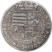 1 thaler Ferdinand II (Hall) – revers