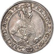 10 kreuzer Ferdinand II du Tyrol (Mühlau) – avers