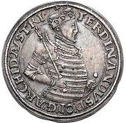 10 kreuzer Ferdinand II du Tyrol (Hall) – avers