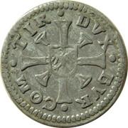 1 kreuzer Ferdinand II du Tyrol – revers