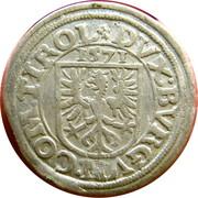 2 kreuzer Ferdinand II du Tyrol – revers