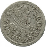 2 kreuzer Ferdinand II du Tyrol – avers