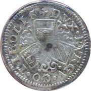 3 kreuzer Ferdinand II du Tyrol – revers
