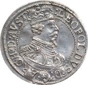 3 kreuzer Leopold V Landesfürst du Tyrol (1626 -1632) – avers