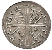 6 kreuzer Ferdinand II du Tyrol – revers