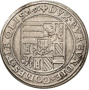 10 kreuzer Ferdinand II du Tyrol (Mühlau) – revers