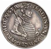 10 kreuzer Ferdinand II du Tyrol (Mühlau-Hall) – avers