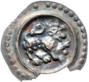 1 Brakteat - Friedrich II. -  revers