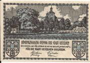 25 Pfennig (Uetersen) – avers