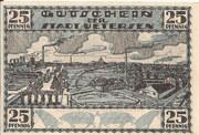 25 Pfennig (Uetersen) – revers