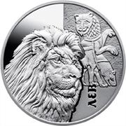 5 Hryven (Lion) -  revers